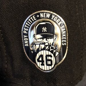 New York Yankees Authentic Hat 7 3/8 Andy Pettitte